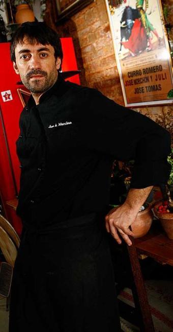 Chef José Morchon ministra oficina de gastronomia espanhola - Foto: Fernando Vivas | Ag. A TARDE