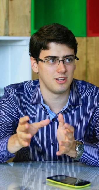 Rafael Valente, diretor de novos projetos do Grupo Civil - Foto: Luciano da Matta | Ag. A TARDE