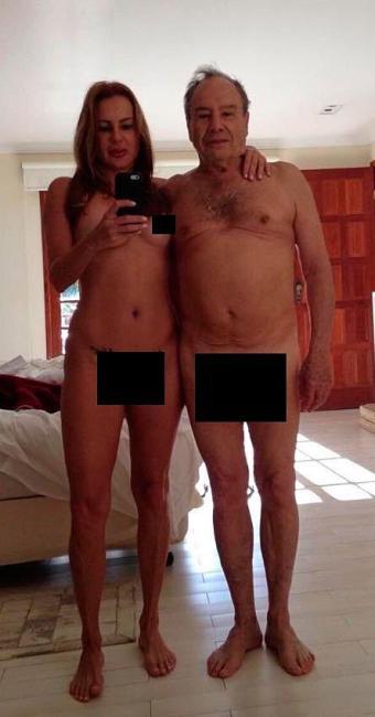 Fotos íntimas do casal foram divulgadas na internet - Foto: Reprodução