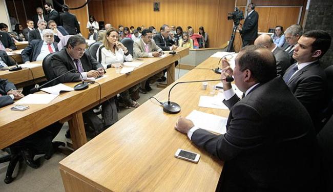 A Comissão Mista da Assembleia fez na quarta-feira, 14, a leitura do relatório do projeto de lei - Foto: Luciano da Matta l Ag. A TARDE