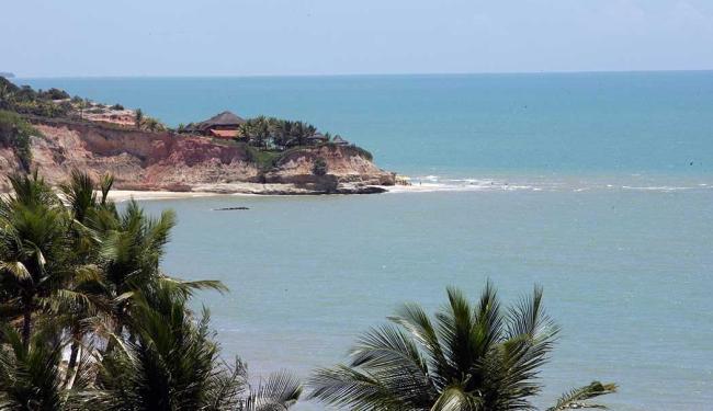 Avião teria caído na praia de Cumuruxatiba, na região sul da Bahia - Foto: Jorge Vox | Divulgação