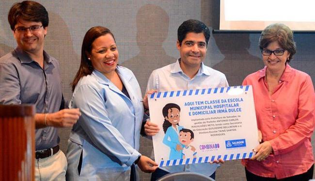 ACM Neto participou da entrega do hospital - Foto: Valter Pontes | Agecom