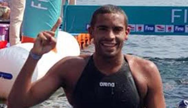 Allan do Carmo ainda pode ser campeão mundial de maratona aquática - Foto: Divulgação
