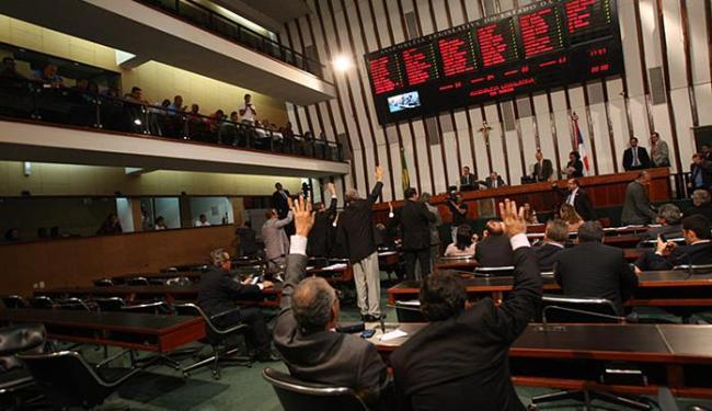 Proposta de mudança do plano de saúde passou na AL-BA apesar dos votos contrários da oposição - Foto: Margarida Neide l Ag. A TARDE