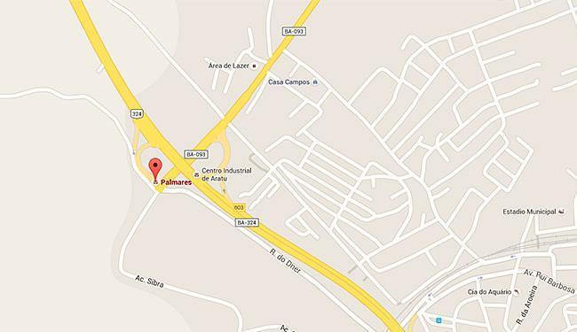 Trânsito será interrompido a partir das 8h de terça-feira, 13, na BA-093 - Foto: Reprodução   Google Maps