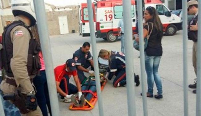 Vítima foi baleada durante confronto entre três homens - Foto: Reprodução | Blog do Anderson
