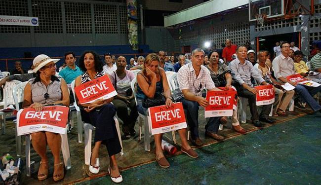 A greve foi deflagrada em assembleia na segunda, 5 - Foto: Margarida Neide l Ag. A TARDE
