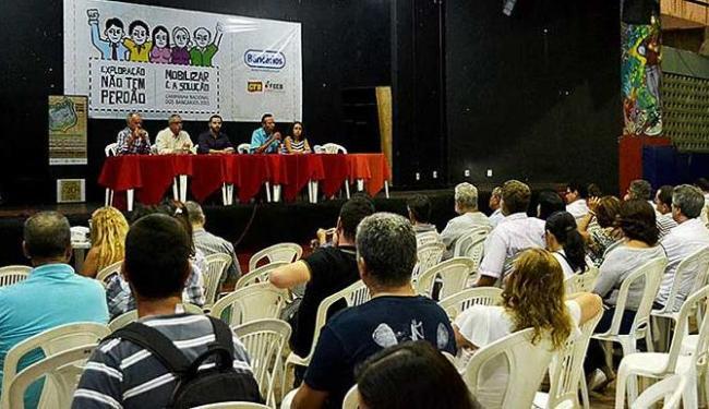 Assembleia aconteceu no Ginásio de Esportes, ladeira dos Aflitos - Foto: Divulgação | Sindicato dos Bancários