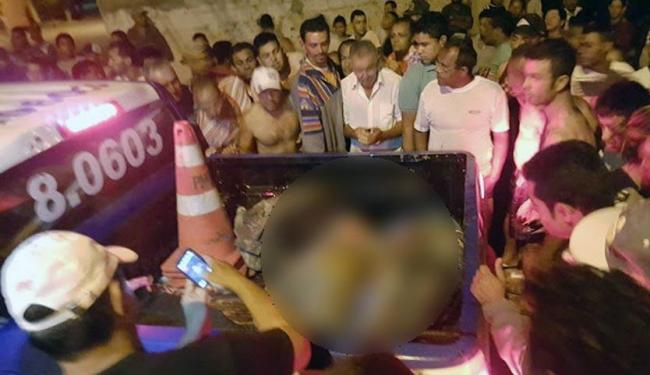 Dois dos assaltares morreram após troca de tiros com a polícia - Foto: Reprodução | Site Macaubense Life