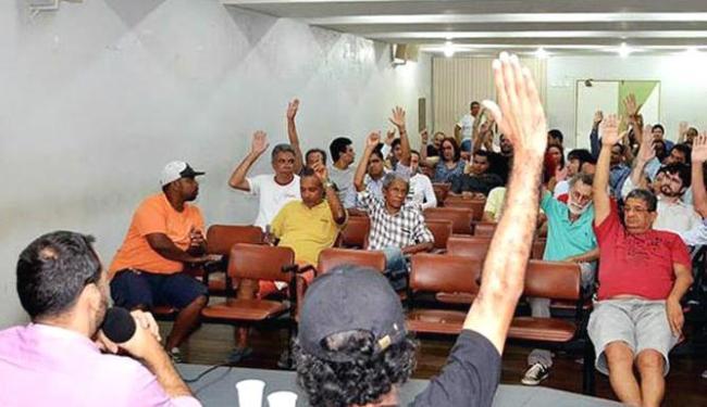 O fim da paralisação foi decidido em assembleia realizada nesta quarta - Foto: Reprodução   Sindicato dos Bancários