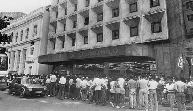 O Econômico sofreu intervenção do BC em 1995 - Foto: Arquivo A TARDE l 09.11.2006