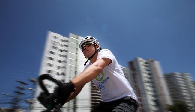 Os interessados devem levar sua bicicleta ou utilizar uma das bikes do Itaú - Foto: Raul Spinassé | Ag. A TARDE