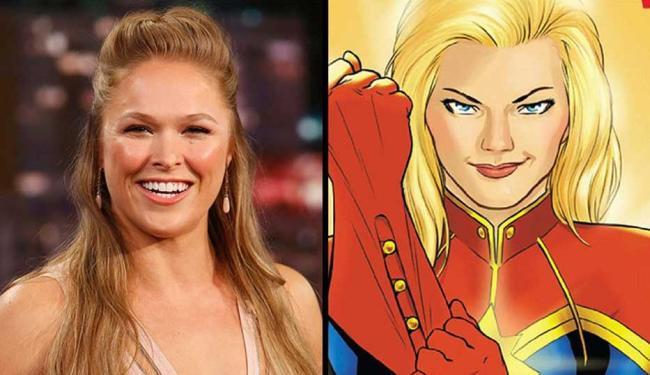 Ronda já iniciou a campanha para interpretar a Senhorita Marvel nos cinemas - Foto: Reprodução