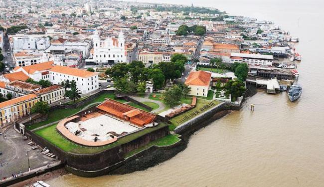 Vista área do Centro Histórico de Belém do Pará - Foto: Fotos Setur Pará   Divulgação