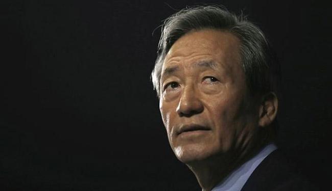 Chung Mong-Joon disse que planeja processar o atual comandante da entidade - Foto: Kim Hong-Ji l Reuters