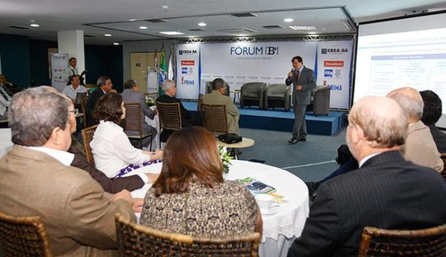 A 29ª edição do Fórum B [+] foi realizada para debater a importância das parcerias público-privadas - Foto: Edilson Lima l Ag. A TARDE