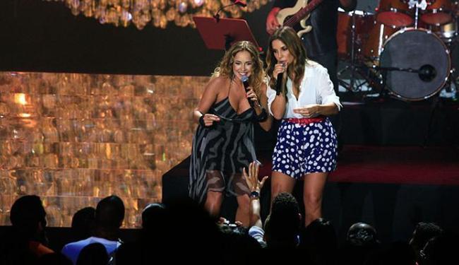 Daniela Mercury e Ivete Sangalo fazem dueto em Maimbê Dandá e Cadê Dalila? - Foto: Mila Cordeiro   Ag. A TARDE
