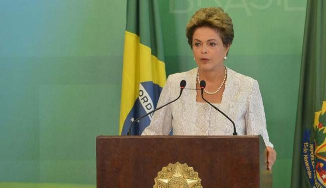 Dilma Rousseff anuncia cortes em ministérios e secretarias do governo - Foto: Antonio Cruz   Agência Brasil
