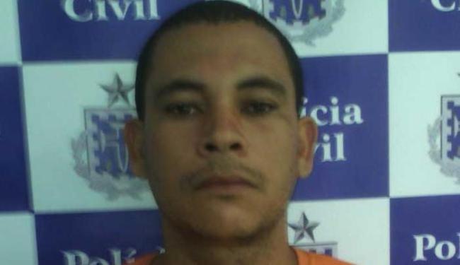 Gersonildo foi preso no Conjunto Residencial Bosque das Bromélias - Foto: Ascom | Polícia Civil