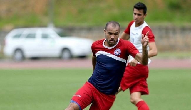 Roger não participou de treino por conta de virose - Foto: Felipe Oliveira   Divulgação   E.C. Bahia