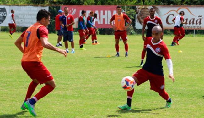Elenco tricolor treina de olho em recuperação - Foto: Divulgação   ECBahia