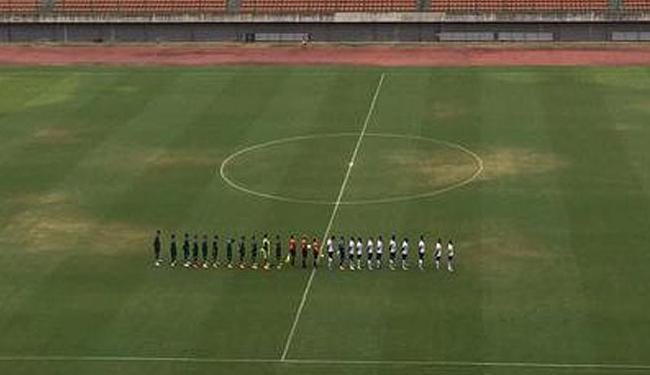 Time saiu na frente no primeiro tempo, mas sofreu o empate no segundo tempo - Foto: Divulgação   E.C.Bahia