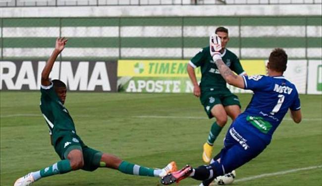O Esquadrãozinho não conseguiu vencer o Goiás e foi eliminado em Goiânia - Foto: Divulgação | Goiás EC