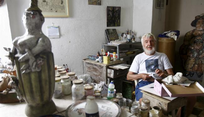 Eckenberger, 77, ganhou fama depois de desembarcar na capital baiana, em 1965 - Foto: Fernando Vivas | Ag. A TARDE