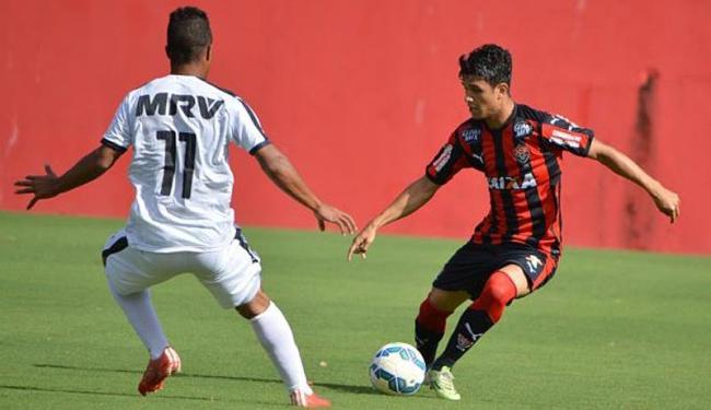 No jogo de ida, o Vitória perdeu em casa para o Galo por 1 a 0 - Foto: Francisco Galvão | E.C.Vitória | Divulgação