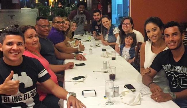 Diego Renan registrou momento de descontração com colegas - Foto: Reprodução | Instagram