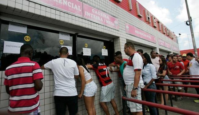 Vendas nesta sexta-feira, 2, serão destinadas a toda torcida - Foto: Edilson Lima | Ag. A TARDE