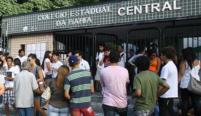 Candidatos terão esquema especial de transporte e segurança nos 1.441 locais de prova - Foto: Joá Souza | Ag. A TARDE
