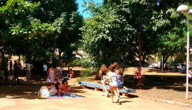 Crianças ficam à vontade na feira - Foto: Divulgação| Facebook Troca de Brinquedos Salvador