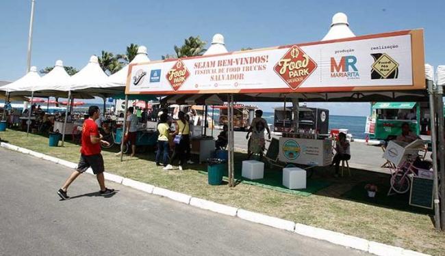 O Food Park Salvador acontece novamente no Jardim dos Namorados, na Pituba - Foto: Fernando Amorim | Ag. A TARDE