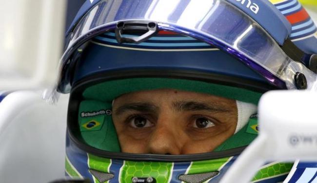Massa abandonou a prova após batida com Alonso - Foto: Grigory Dukor   Agência Reuters
