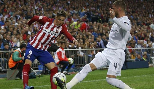 Sergio Ramos já era desfalque há cerca de um mês, depois de ter sofrido uma lesão - Foto: Sergio Perez   Agência Reuters