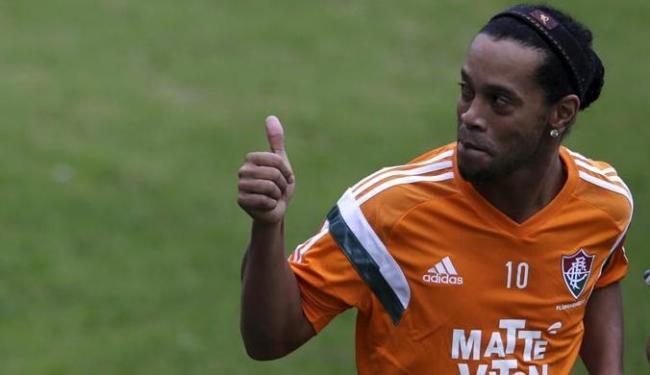 Ele apontou Neymar como seu sucessor no clube catalão e ainda garantiu que retornará aos gramados - Foto: Ricardo Moraes | Agência Reuters
