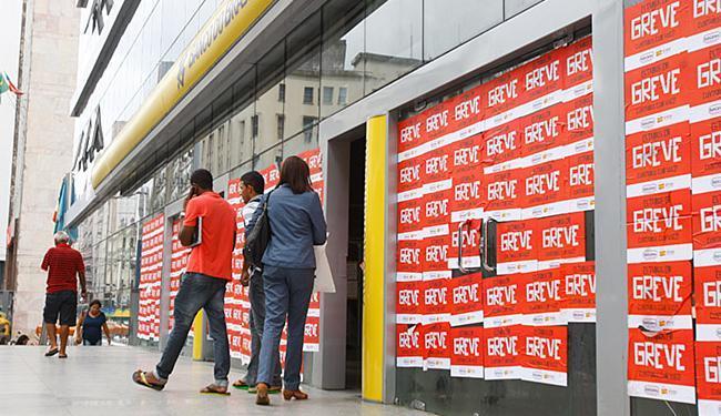 Agência BB, no Comércio, foi uma das que fecharam as portas - Foto: Edilson Lima l Ag. A TARDE