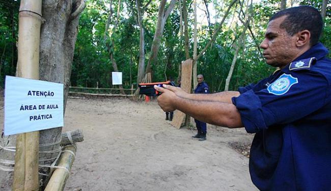 Treinamento ocorre no Grupamento de Operações Especiais - Foto: Fernando Amorim l Ag. A TARDE