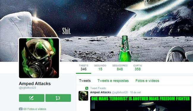 Hacker mostra no perfil do Twitter os sites racistas e homofóbicos que tira do ar - Foto: Reprodução