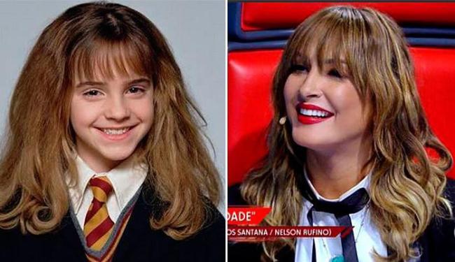 Claudinha é comparada a Hermione, da série