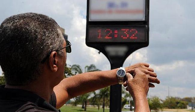 Horário de verão atinge 10 estados e o Distrito Federal - Foto: Agência Brasil