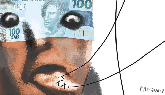 O PIB brasileiro deverá chegar ao fundo do poço no ano que vem, quando vai valer R$ 5,277 trilhões - Foto: Cau Gomez | Editoria de Arte | A TARDE