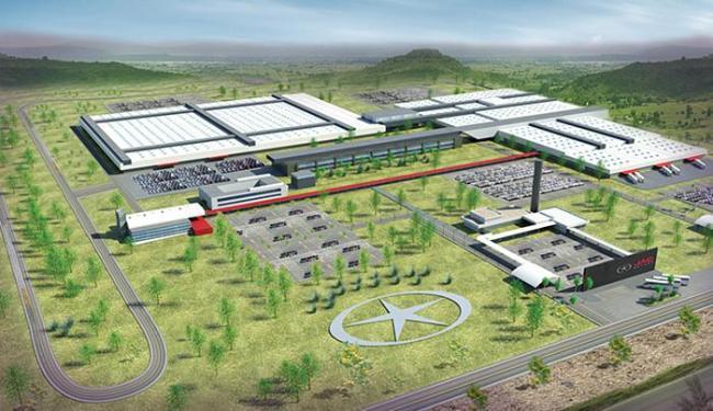 Projeto de construção da fábrica na Bahia foi divulgado e inauguração estava prevista para 2014 - Foto: Ascom SICM l Divulgação