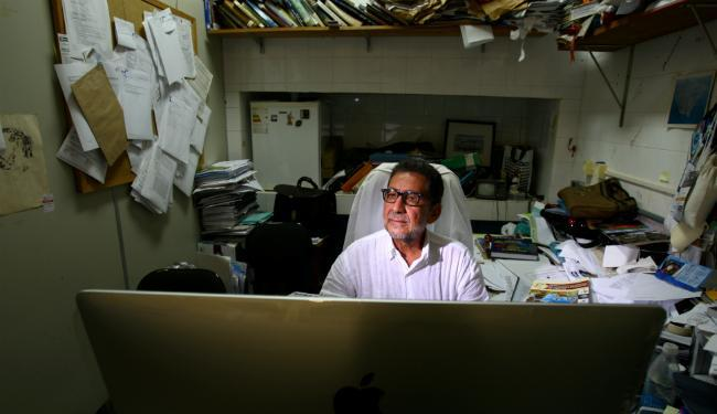 Jailson Bittencourt estuda a Baía de Todos-os-Santos desde 2008 - Foto: Fernando Vivas | Ag. A TARDE