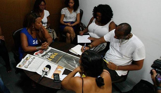 Jornalistas estão em Salvador para um intercâmbio sobre comunicação comunitária - Foto: Fernando Amorim l Ag. A TARDE