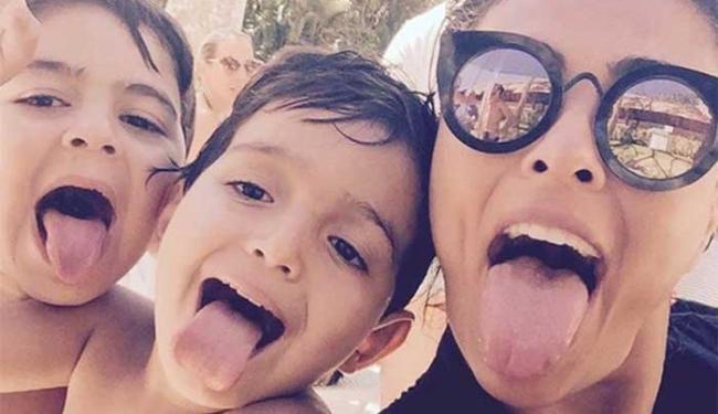 Juliana Paes é mãe de dois meninos, Pedro, de 5 anos, e Antonio, de 2 - Foto: Reprodução | Instagram | @julianapaes