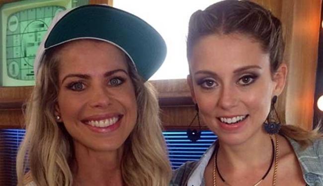 Karina foi entrevistada pela apresentadora Luitha - Foto: Divulgação