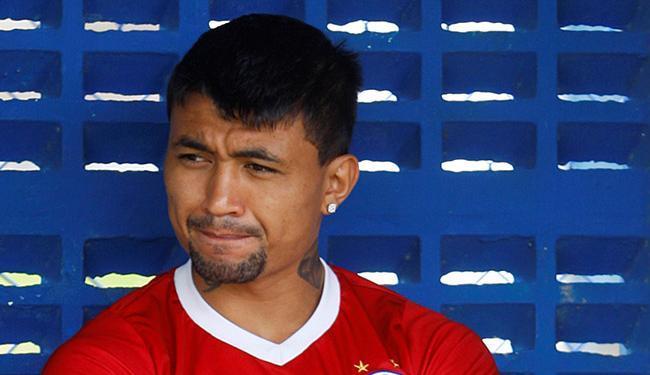 O artilheiro do Tricolor na temporada ainda será julgado pelo STJD - Foto: Edilson Lima l Ag. A TARDE