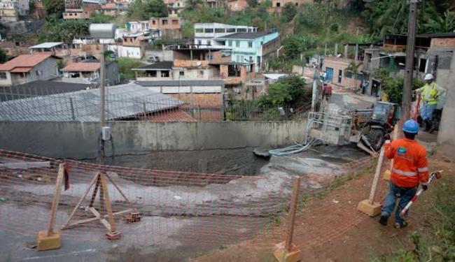 Laudo geotécnico vai analisar viabilidade da obra no local - Foto: Lúcio Távora | Ag. A TARDE